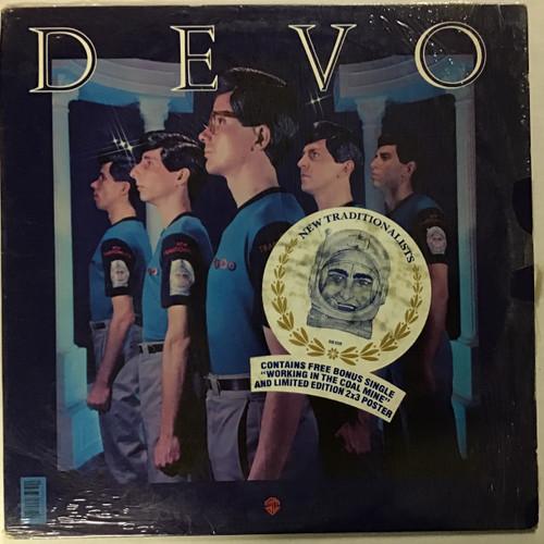 Devo - New Traditionalists - WITH 45 - Vinyl record LP