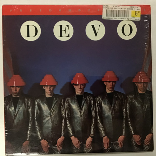 Devo - Freedom of Choice - vinyl record LP