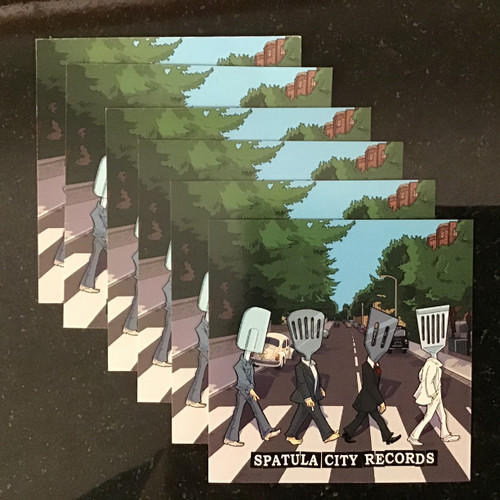 Limited Run Abbey Road - Spatula City Fridge Magnet