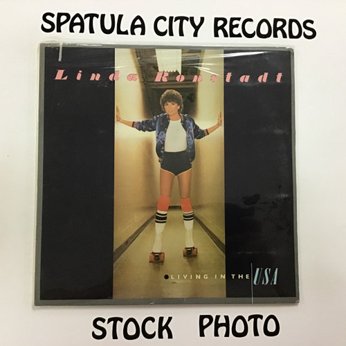 Linda Ronstadt - Living in the USA - vinyl record LP