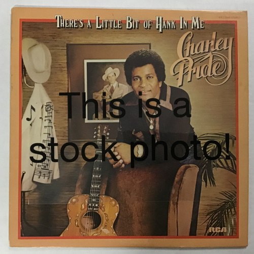 Charley Pride - There's a little bit of Hank in Me - vinyl record LP
