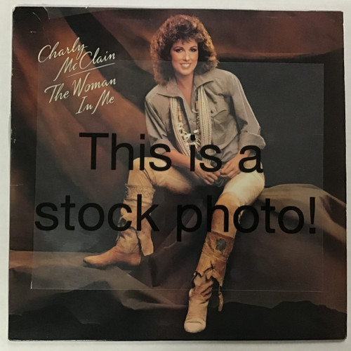 Charly McClain - The Woman in Me - vinyl record LP