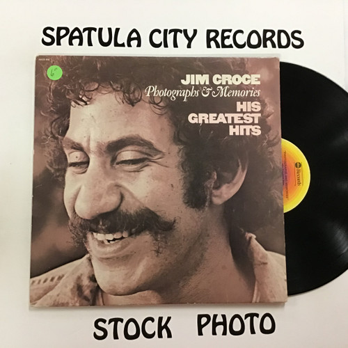 Jim Croce - His Greatest Hits Photographs and Memories -  Vinyl record LP