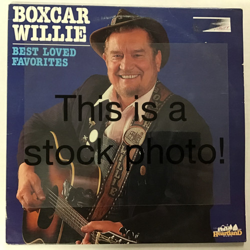 Boxcar Willie - Best Loved Favorites - double vinyl record LP