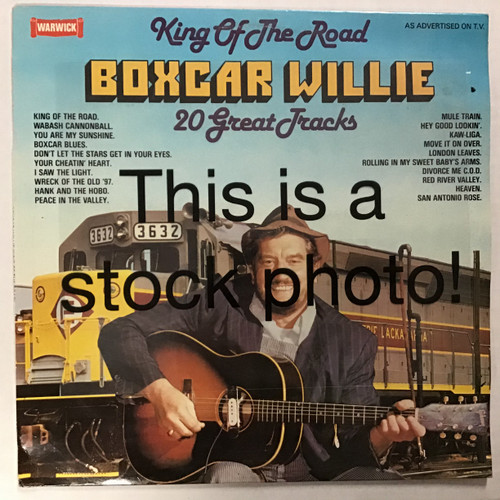 Boxcar Willie - King of the Road - 20 Great Tracks - IMPORT - vinyl record LP