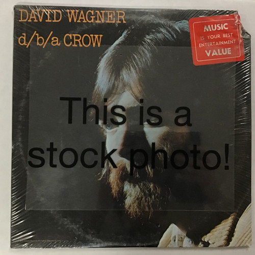 David Wagner ‎– d/b/a Crow - SEALED - vinyl record LP