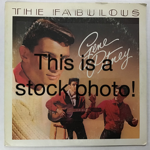 Gene Pitney - The Fabulous - vinyl record LP