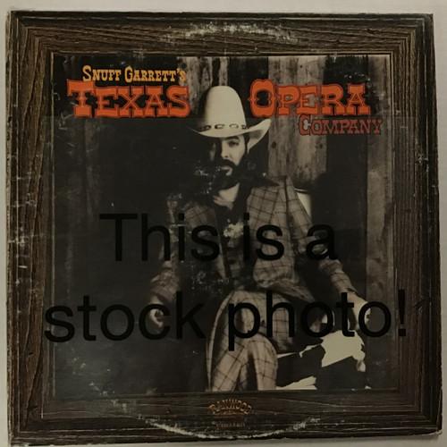 Snuff Garrett's Texas Opera Company - vinyl record LP