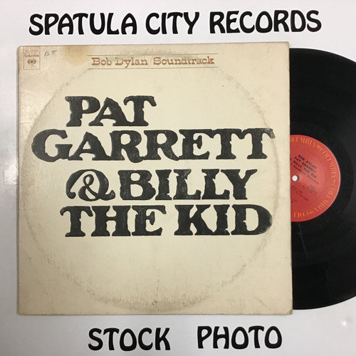 Bob Dylan - Pat Garrett & Billy the Kid Soundtrack  - Vinyl record LP