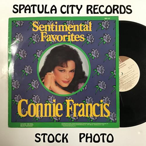 Connie Francis - Sentimental Favorites - vinyl record LP