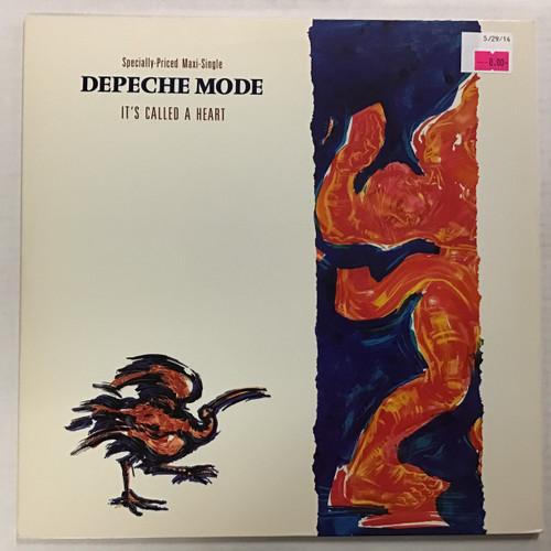 Depeche Mode - It's Called a Heart - MAXI - vinyl record LP