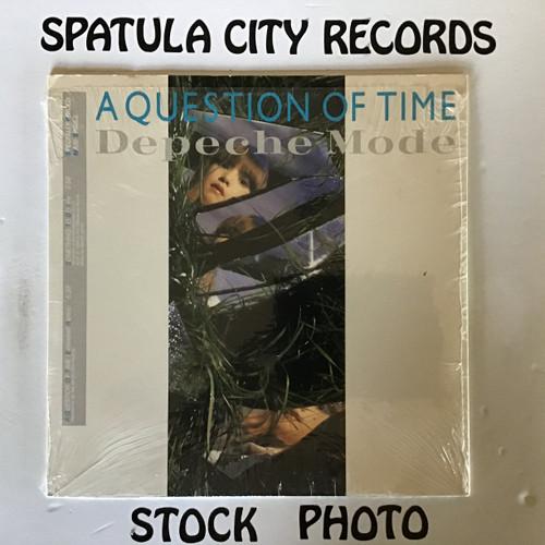 Depeche Mode - A question of Time - MAXI - vinyl record LP