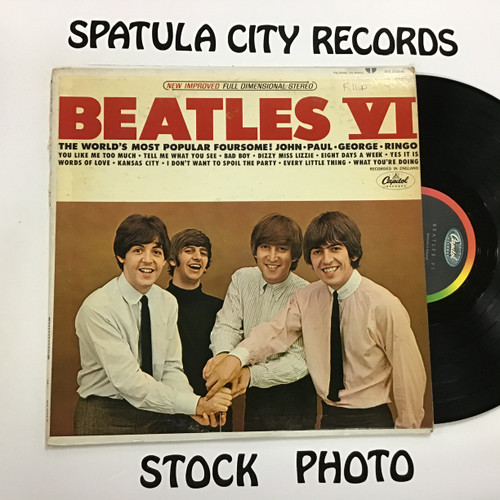 Beatles, the - Beatles VI - MONO - vinyl record LP