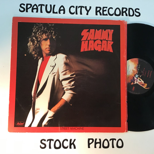 Sammy Hagar - Street Machine - vinyl record LP