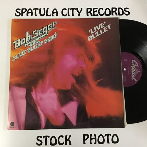 Bob Seger and the Silver Bullet Band - Live Bullet - Double Vinyl record LP