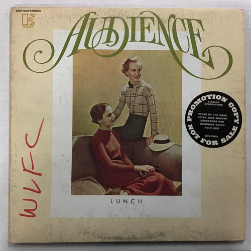 Audience ‎– Lunch  - WLP PROMO - vinyl record LP