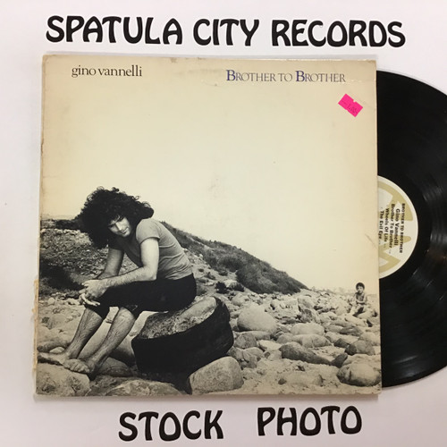 Gino Vannelli - Brother to Brother - vinyl record LP