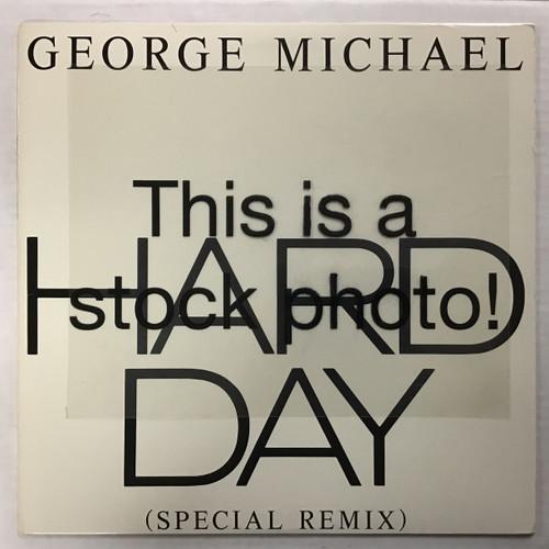 "George Michael - Hard Day (Special Remix) - 12"" single vinyl record lp"