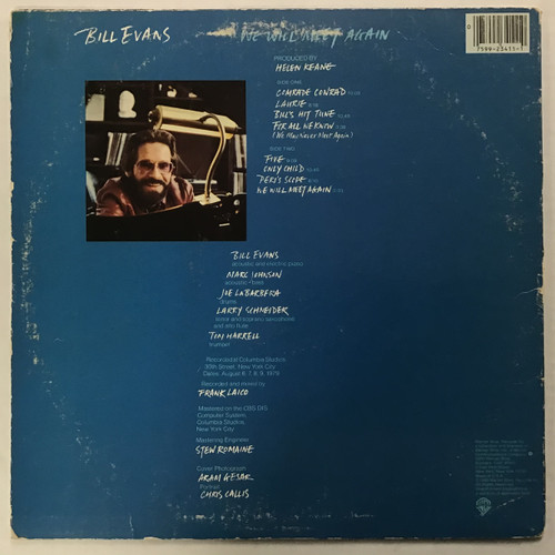 Bill Evans - We will meet again - vinyl record LP