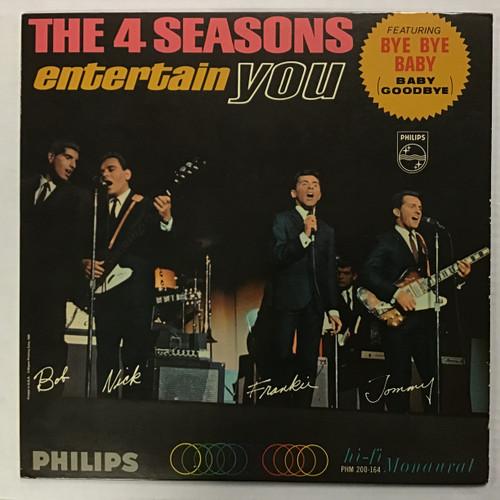 The Four Seasons – The 4 Seasons Entertain You - MONO - vinyl record LP