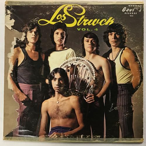 Los Strwck - volume 4 - vinyl record LP
