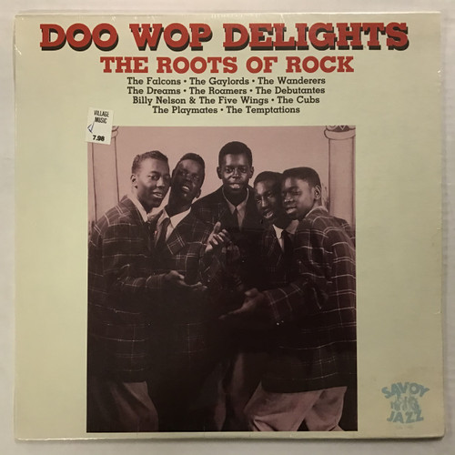 Doo Wop Delights The Roots of Rock - COMPILATION - SEALED - vinyl record LP