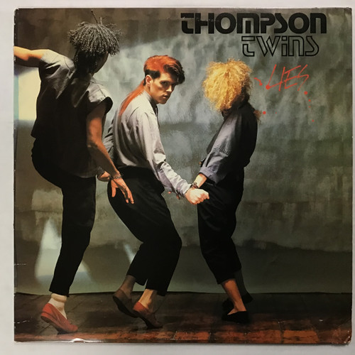Thompson Twins - Lies - vinyl record LP
