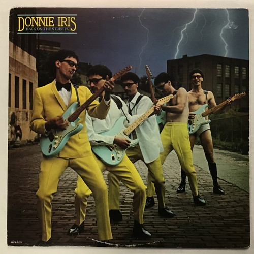 Donnie Iris - Back on the Streets - vinyl record LP