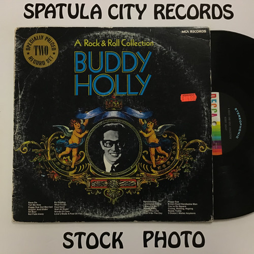 Buddy Holly - A Rock and Roll Collection - double vinyl record LP