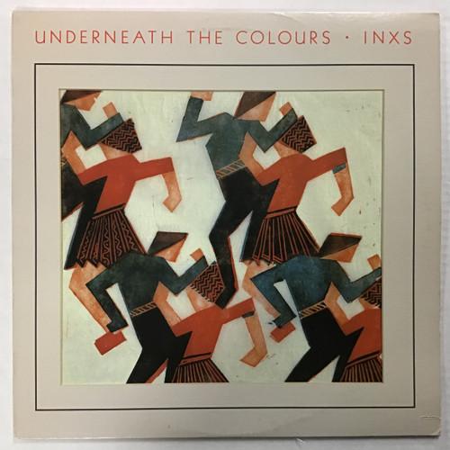INXS - Underneath The Colours - vinyl record LP