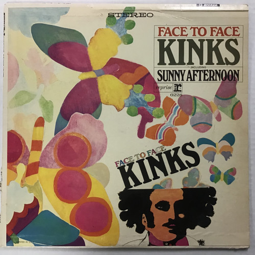 Kinks, The - Face to Face - vinyl record LP