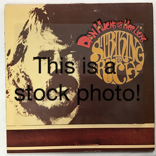 Dan Hicks and His Hot Licks - Striking It Rich - vinyl record LP