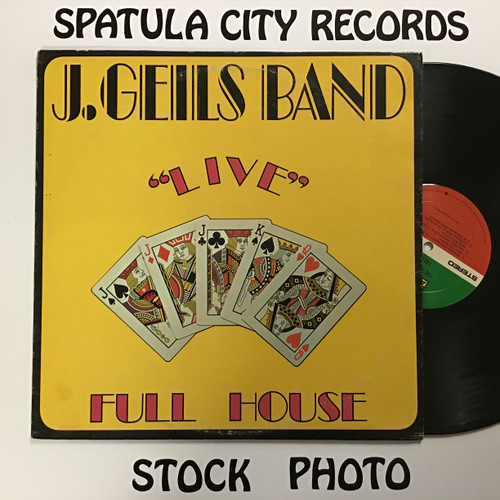 "J. Geils Band, The - ""Live"" Full House - vinyl record LP"