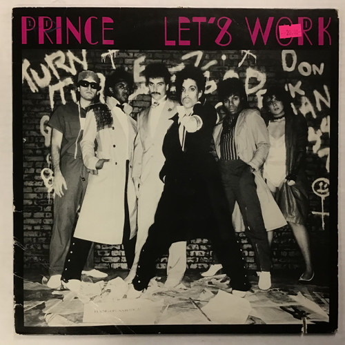 Prince - Let's Work - vinyl record LP