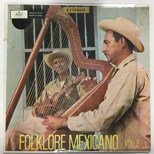 Folklore Mexicano Vol 2 Vinyl record LP