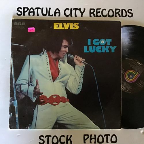 Elvis Presley - I Got Lucky - vinyl record LP