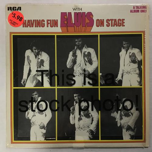 Elvis Presley - Having Fun with Elvis On Stage - MONO - vinyl record LP