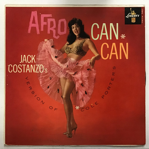 Jack Costanzo's - Afro Can-Can Vinyl record LP