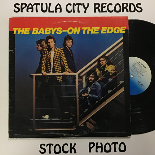 Babys, The - On The Edge - vinyl record LP