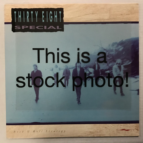 38 Special - Rock and Roll Strategy - vinyl record LP