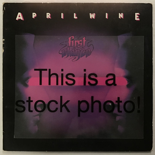April Wine - First Glance - IMPORT - vinyl record LP