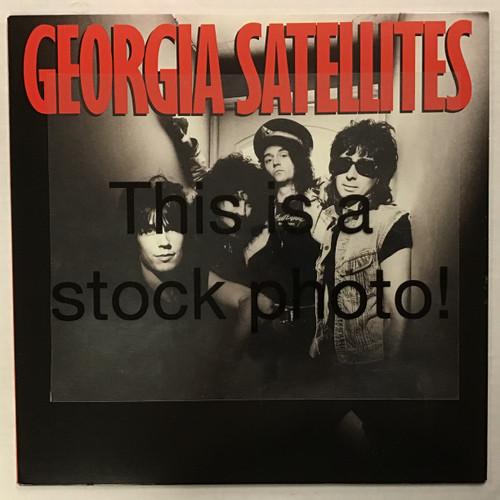 Georgia Satellites - Georgia Satellites - PROMO -  vinyl record LP