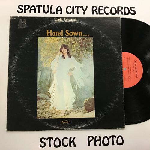 Linda Ronstadt - Hand Sown - vinyl record LP