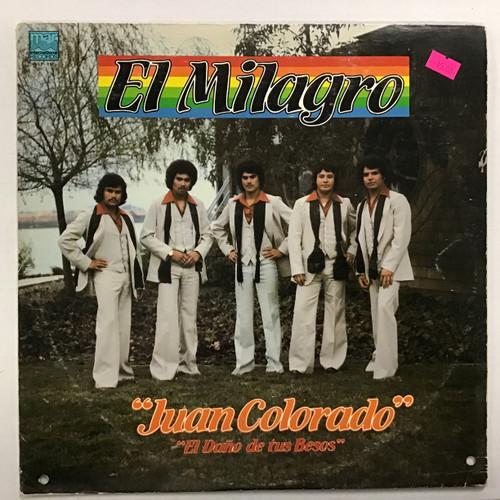 Juan Colorado - El Milagro Vinyl record LP