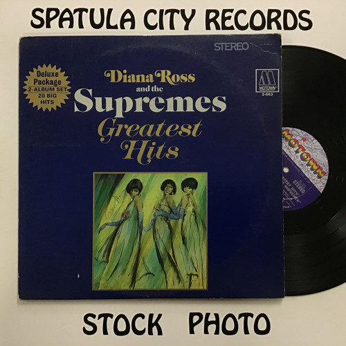Diana Ross And The Supremes ‎– Greatest Hits - double vinyl record album LP