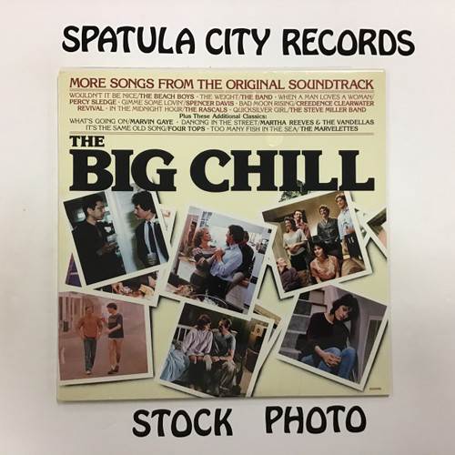 More songs from The Big Chill- Soundtrack -  SEALED - vinyl record Album LP