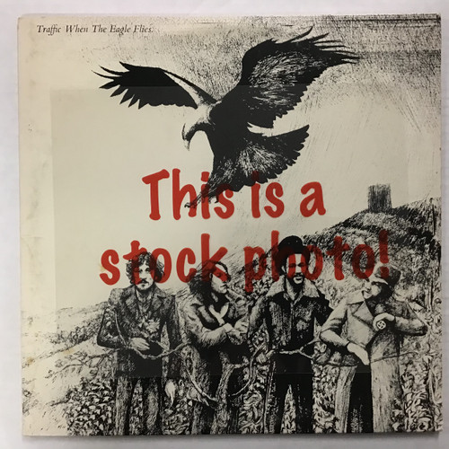 Traffic - When the Eagle Flies - vinyl record album LP