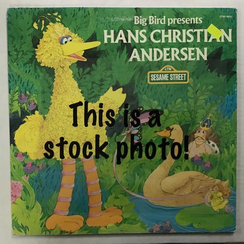 Big Bird - Big Bird Presents Hans Christian Andersen - vinyl record LP