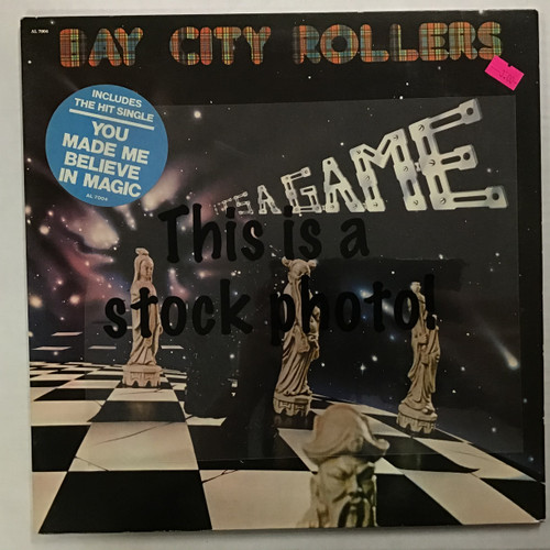 Bay City Rollers - It's a Game - vinyl record LP