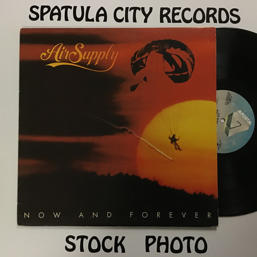 Air Supply - Now and Forever - vinyl record LP